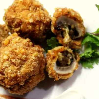 Photo of Stuffed mushrooms by Medha Devdas at BetterButter
