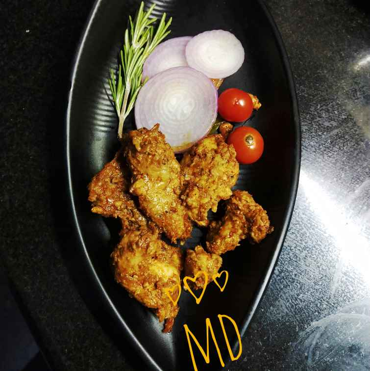 How to make Chicken fry with maaza
