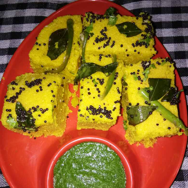 Photo of Instant khaman dhokla by Meena Dutt at BetterButter