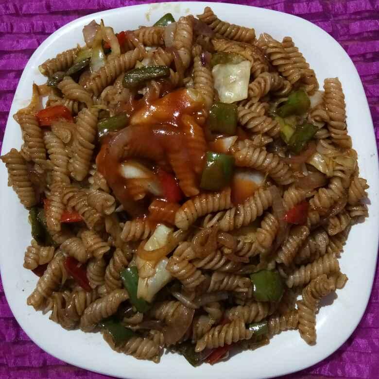 Photo of Italian pasta desi andaj me by Meena Dutt at BetterButter