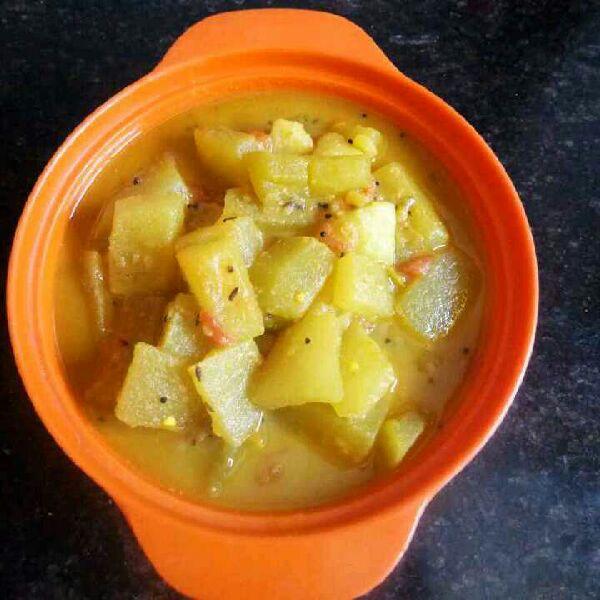 How to make तरबूज के छिलके की सब्जी