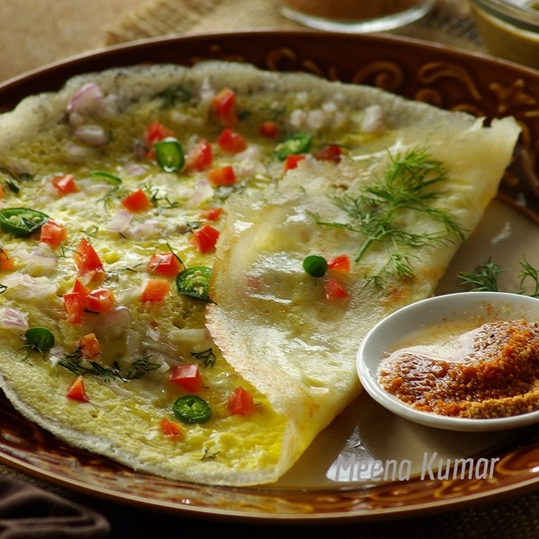Photo of Egg Dosa by Meena Kumar at BetterButter