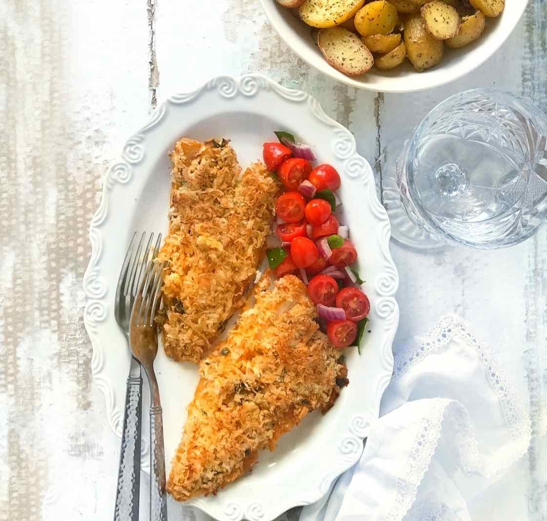 How to make Coconut Crusted Fish (Cod)