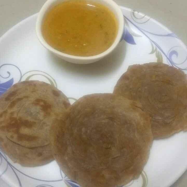 Photo of Wheat parotta by Meena Maheswaran at BetterButter