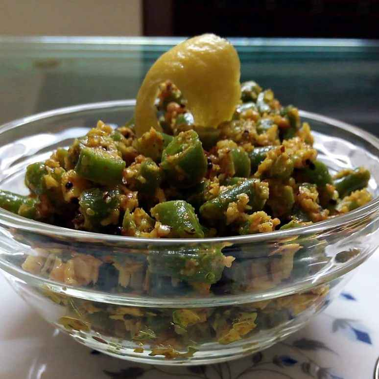 Photo of French Beans Salad by Meena Pareyani at BetterButter