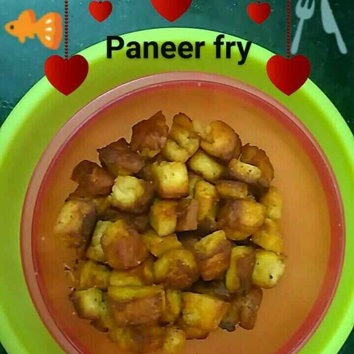 How to make Paneer fry