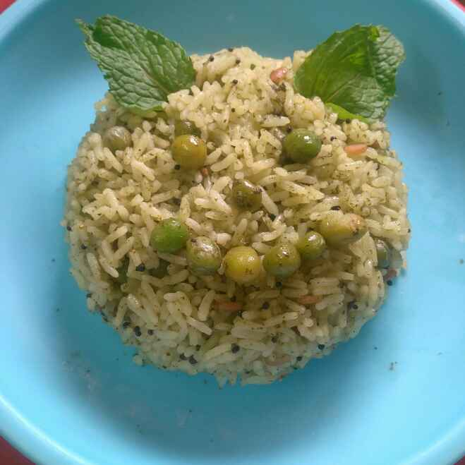 Photo of Healthy Green Rice by Meena Vels at BetterButter