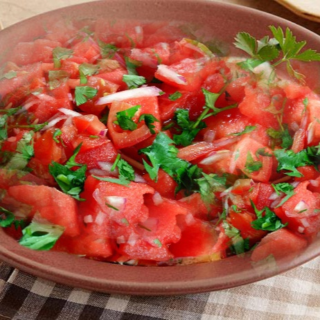 Photo of Watermelon Tomato Salad by meena kshi at BetterButter