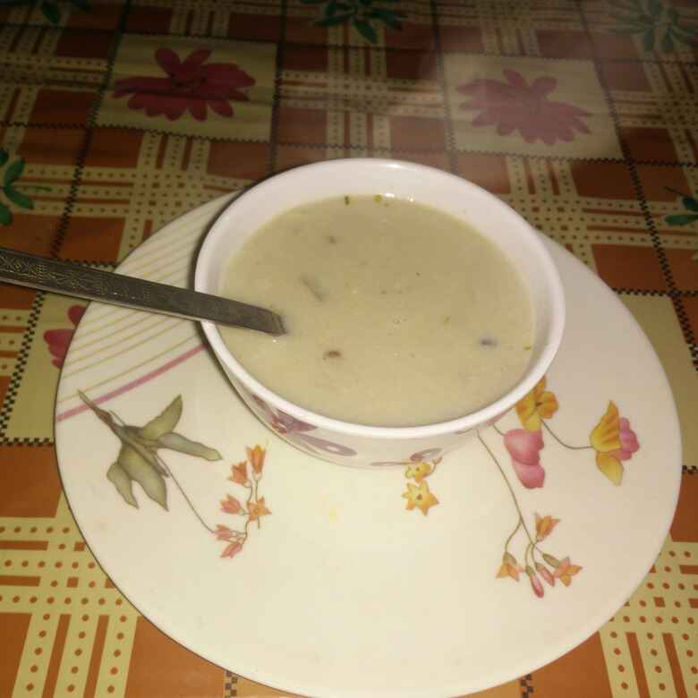 Photo of Cream of Mushroom Soup by meenakshi Gandhi at BetterButter