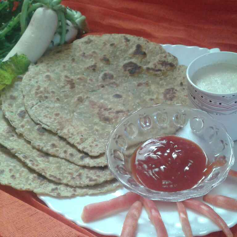 Photo of Muli ke parathe by Meenakshi Mali at BetterButter