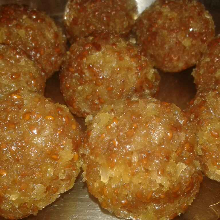Photo of Aliv or garden cress seeds laddoo by Meenakshi Mali at BetterButter