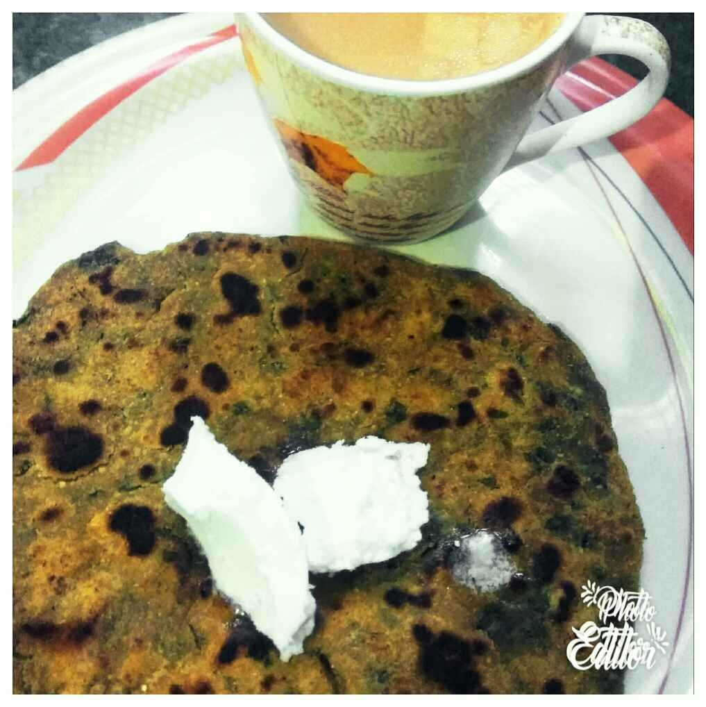 Photo of Makka bathua ka paratha by Meenu Ahluwalia at BetterButter