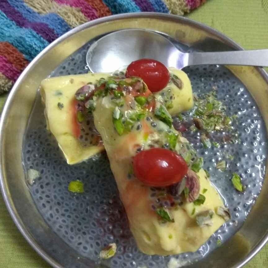 Photo of Mango kulfi by Meenu Ahluwalia at BetterButter