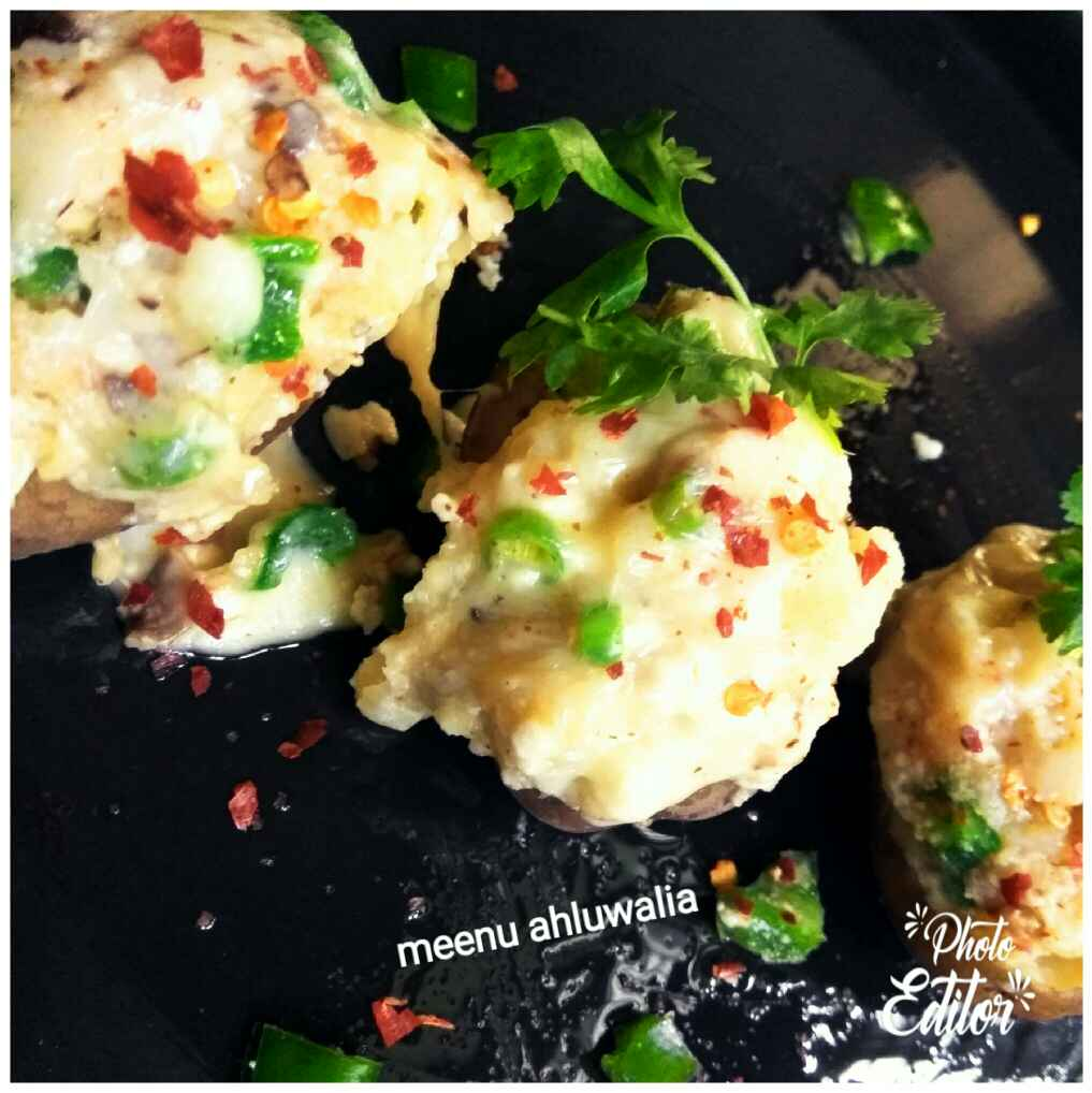 Photo of Stuffed baked potatoes by Meenu Ahluwalia at BetterButter