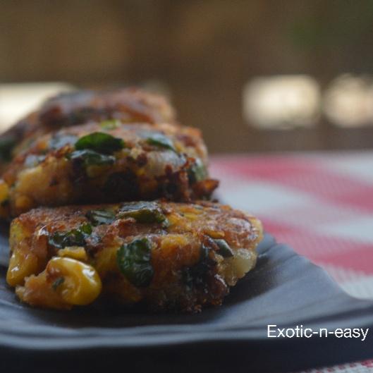 Photo of Corn Methi Kebab (Corn Fenugreek Cutlet) by Meera Girdhar at BetterButter