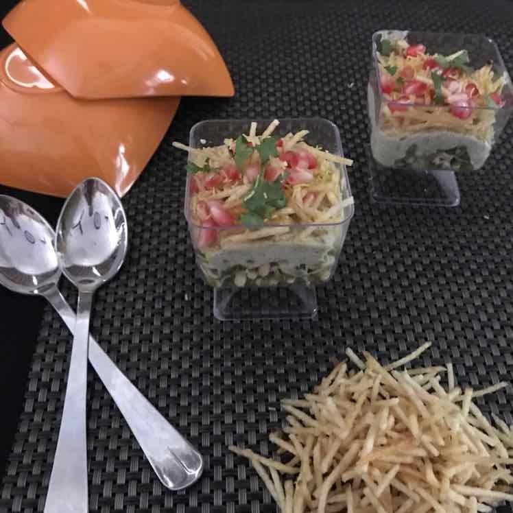 Photo of Moong Sprouts Potato Salli Salad by Meeta Burman at BetterButter
