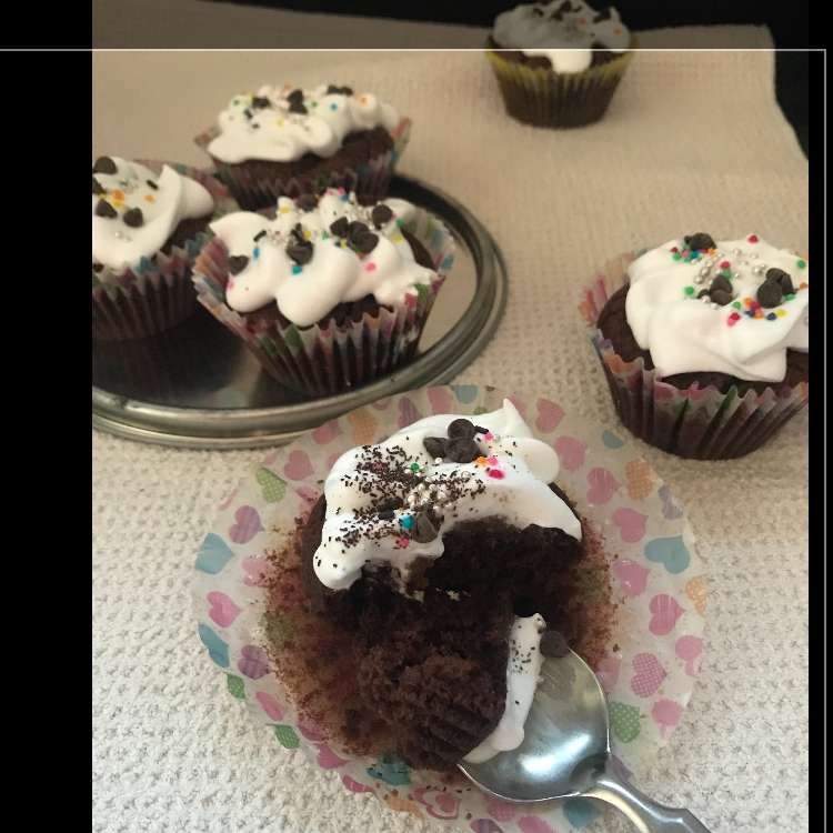 How to make Eggless Wheat Cup Cakes