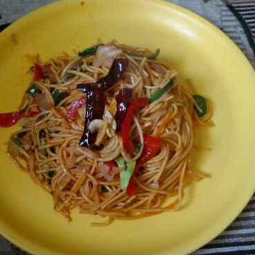 Photo of Schezwan noodles by Megha Choudhary at BetterButter