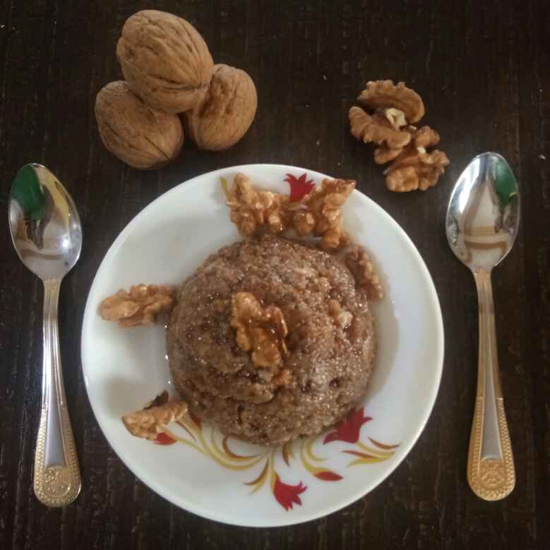 How to make Walnut Halwa