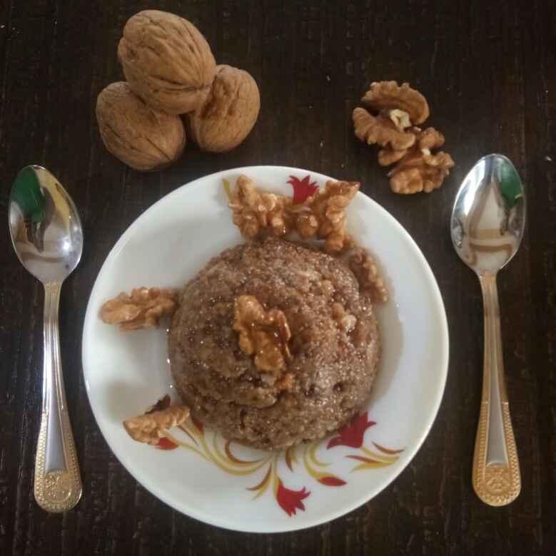 How to make Walnut Halwa