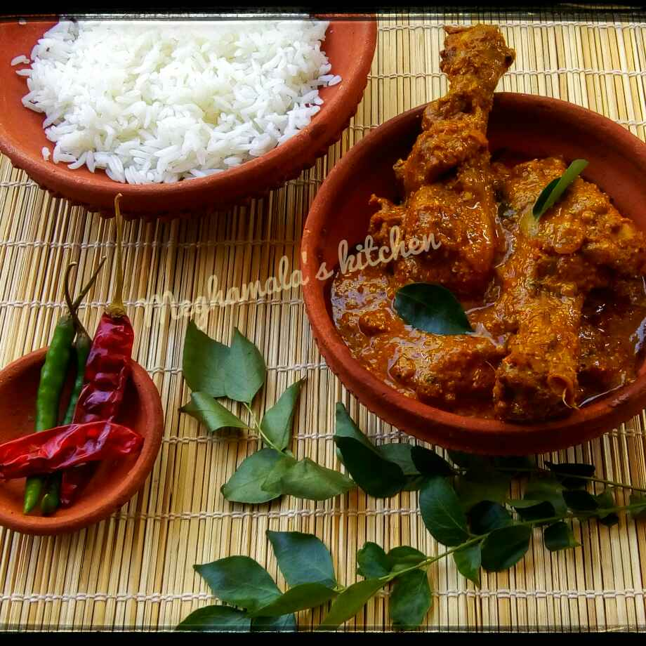 Photo of Andhra Pradesh Style Chicken Curry by Meghamala Sengupta at BetterButter