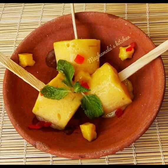 Photo of Mango Kulfi by Meghamala Sengupta at BetterButter