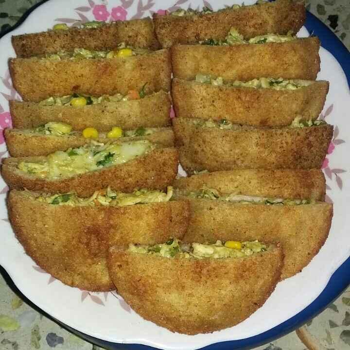 Photo of Chicken bread pocket by mehzabin khan at BetterButter