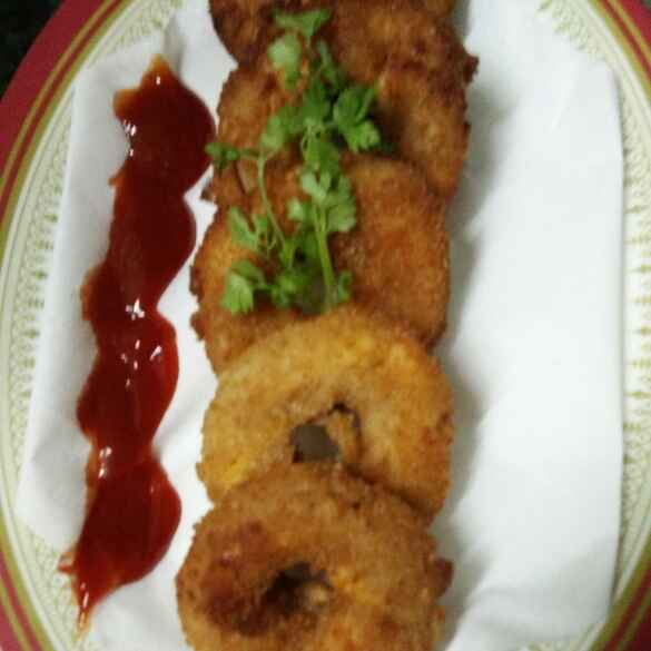 Photo of Cheesy Onion Rings by mehzabin khan at BetterButter