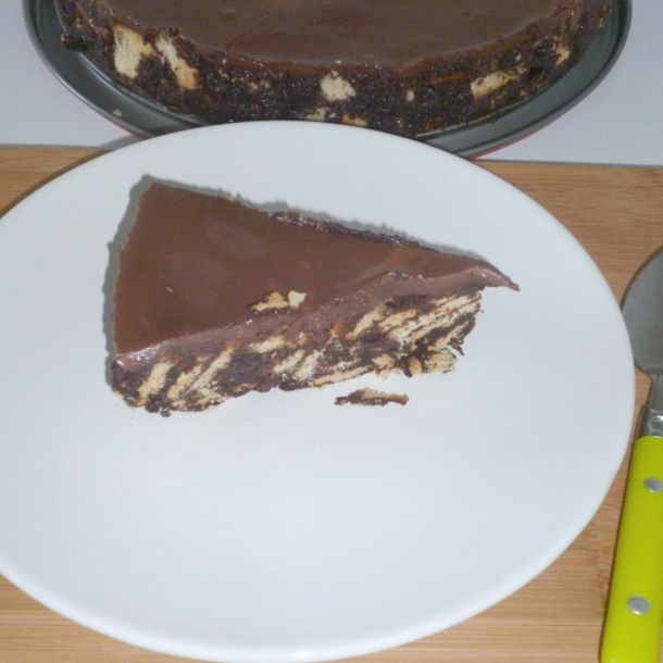 How to make No Bake Chocolate Biscuit Cake