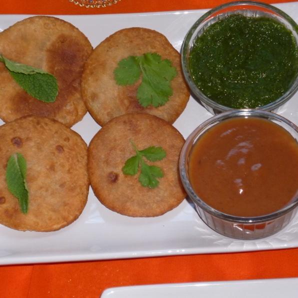 How to make Rajasthani Kachori Platter (Onion Kachori, Moong dal Kachori & Mawa Kachori)