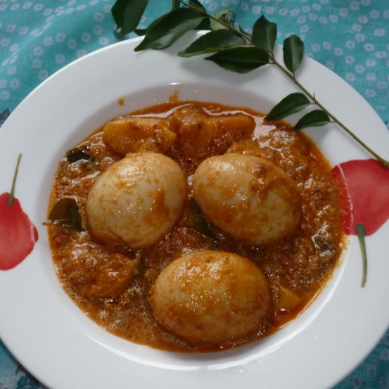 Photo of Egg Assad / Pondicherry Style Egg Curry by Menaga Sathia at BetterButter
