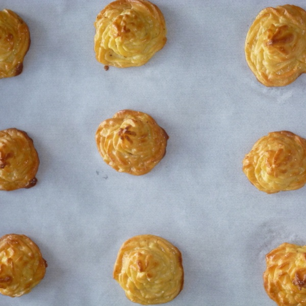 Photo of Duchess Potatoes / Pommes  Duchesse by Menaga Sathia at BetterButter