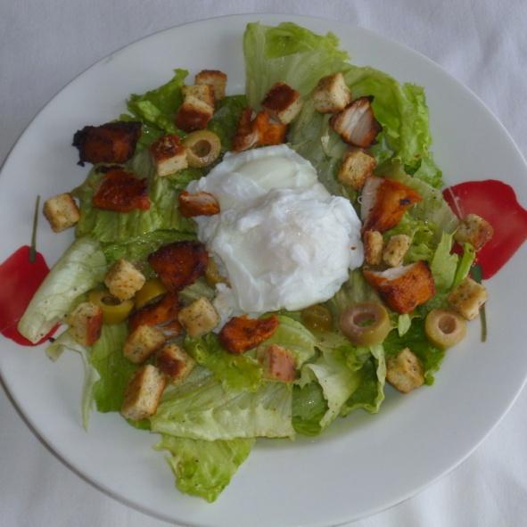 How to make Salade Lyonnaise / Lyonnaise Salad