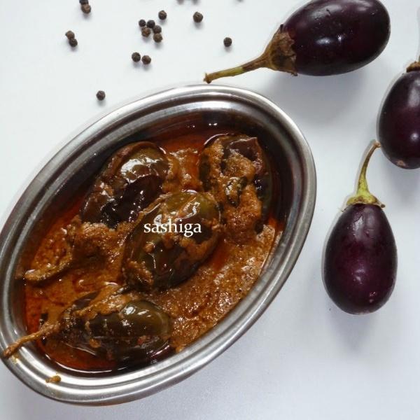 Photo of Biryani Kathirikkai -Side Dish For Biryani by Menaga Sathia at BetterButter