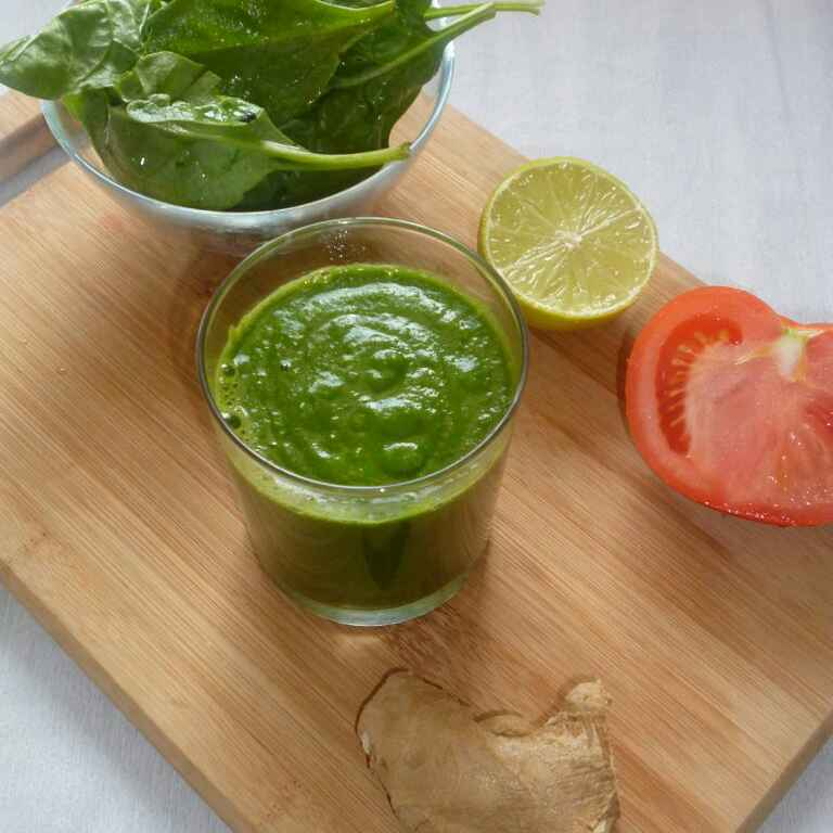 Photo of Detox Green Smoothie by Menaga Sathia at BetterButter