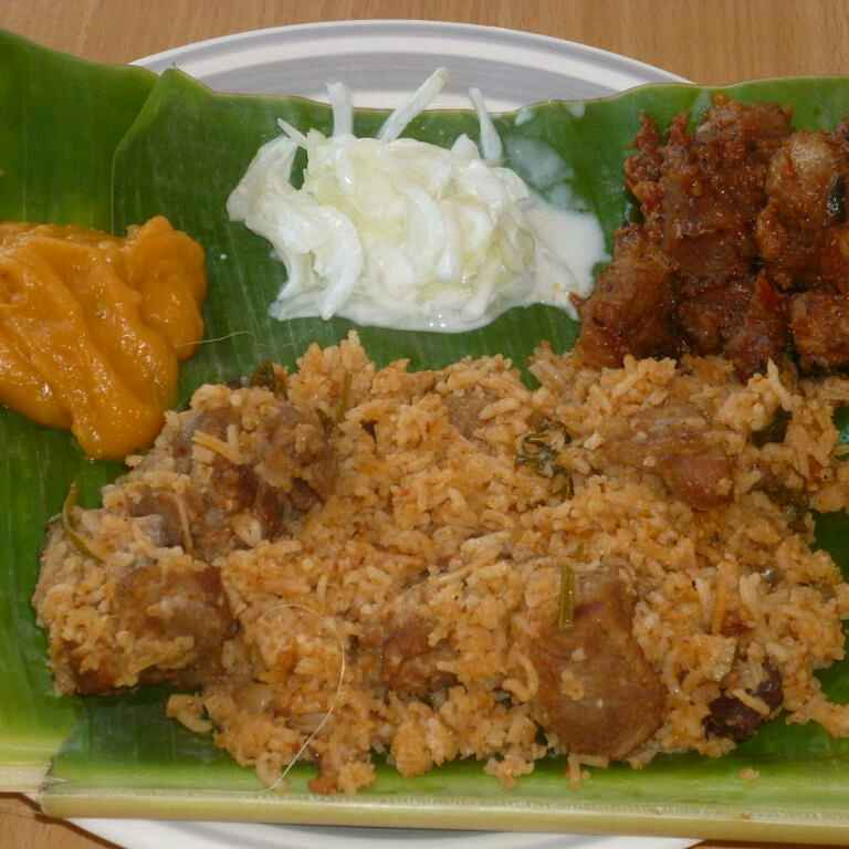 Photo of Ambur Muttin Biryani,Madurai Mutton Sukka &Thiruvaiyaru Asoka Halwa by Menaga Sathia at BetterButter