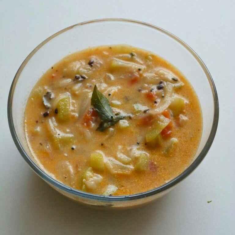 Photo of Ridge gourd Sodhi by Menaga Sathia at BetterButter