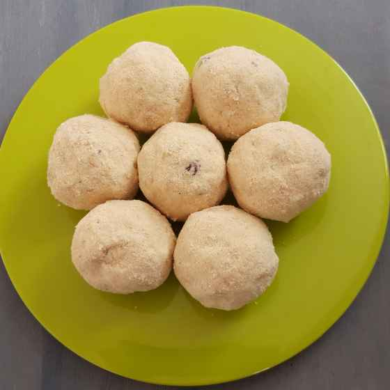 Photo of Palmyra Sprout Flour Laddoo by Menaga Sathia at BetterButter