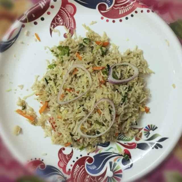 How to make Vegetable Biryani in Pressure Cooker