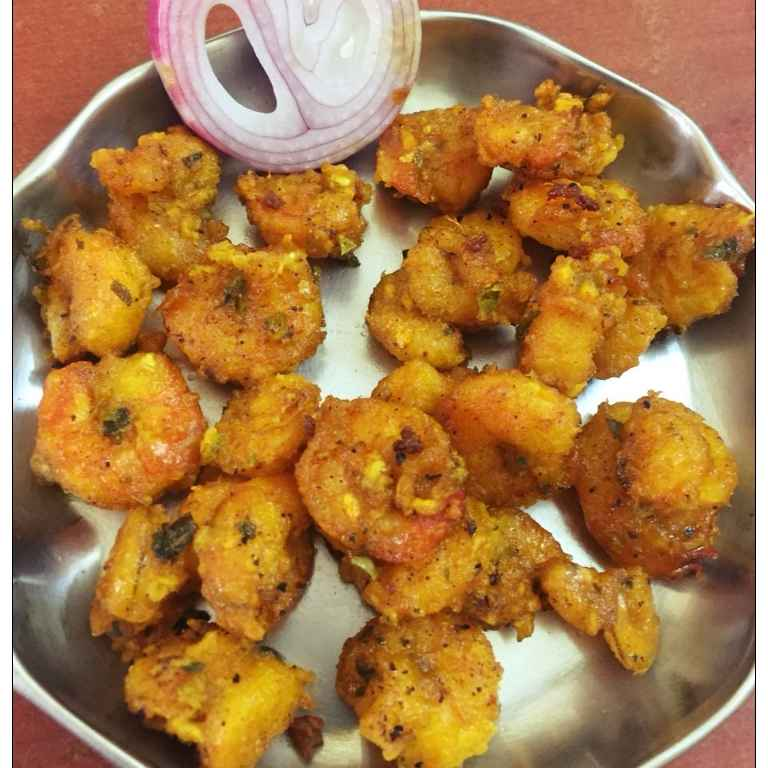 How to make Prawn dry Fry