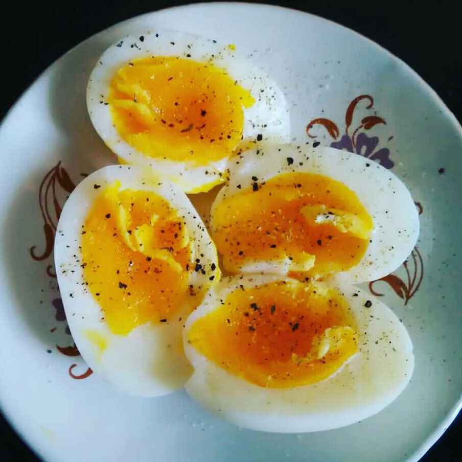 Photo of Soft hardboiled egg by pavumidha arif at BetterButter