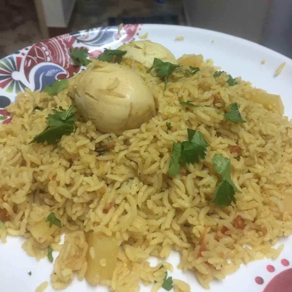 Photo of Egg Biryani by pavumidha arif at BetterButter