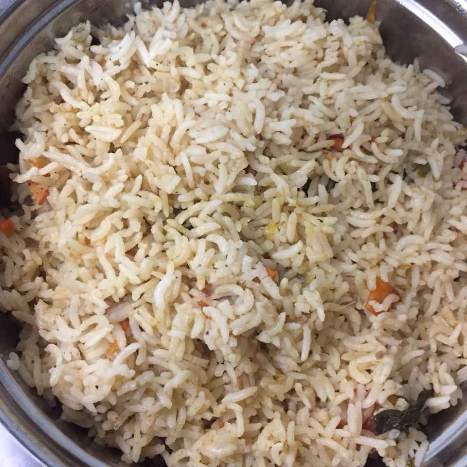 How to make Coconut veg Rice