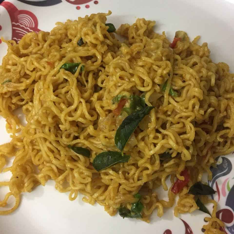 Photo of Fried Maggi noodles by pavumidha arif at BetterButter
