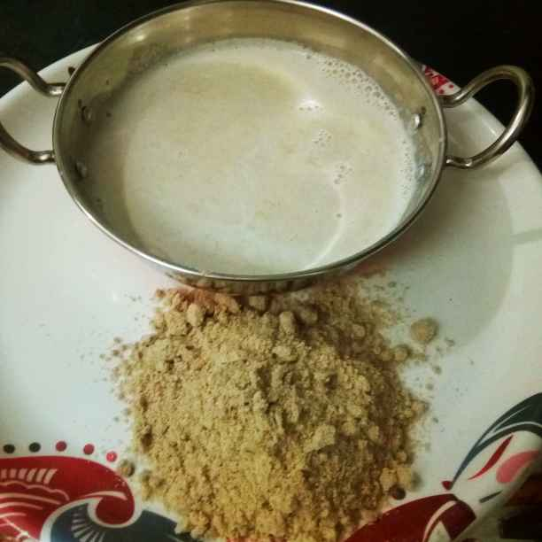 How to make Sathumavu Health Drink