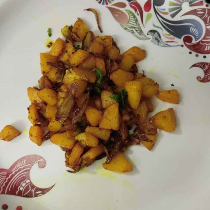 Photo of Potato pepper fry by pavumidha arif at BetterButter