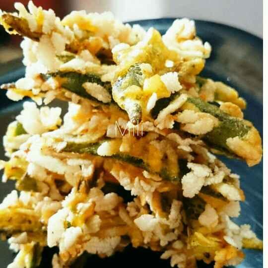 How to make Flowery Bhindi