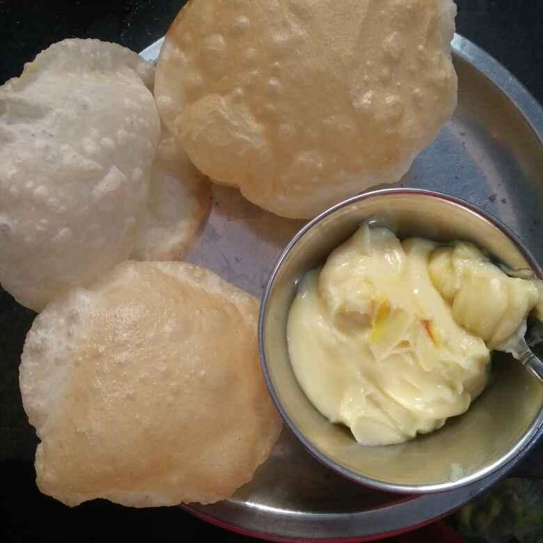 Photo of Shrikhand puri by Minakshi Jambhule at BetterButter