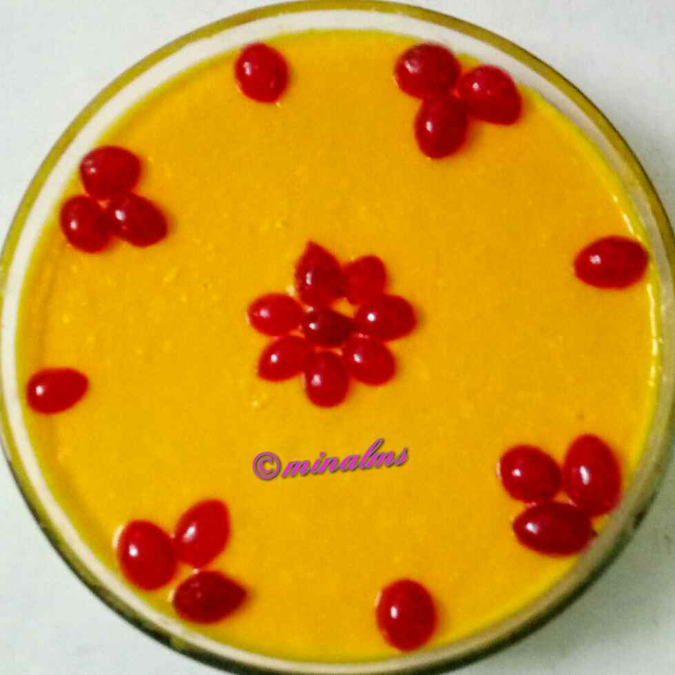 Photo of MANGO pudding by Minal Sardeshpande at BetterButter