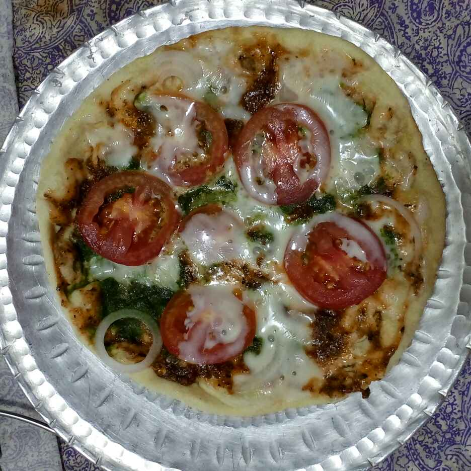 Photo of Khamer Roti Pizza by Minaz Surti at BetterButter